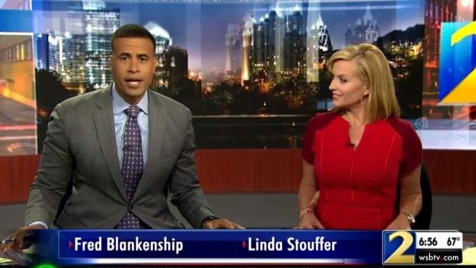 Atlanta news anchors honor Tupac on what would've been his