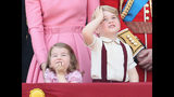 Photos: Charming Princess Charlotte, Prince George at 'Trooping the Color' parade