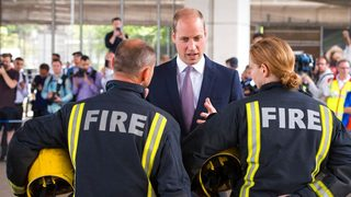 Prince William broke royal protocol to comfort a victim of the horrific…