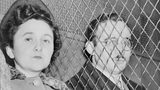 Julius and Ethel Rosenberg, separated by heavy wire screen as they leave U.S. Court House after being found guilty by a jury. (Library of Congress Prints and Photographs Division)