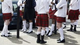 Boys wear skirts after shorts request denied