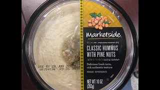 Recall issued for hummus sold at Walmart, other stores