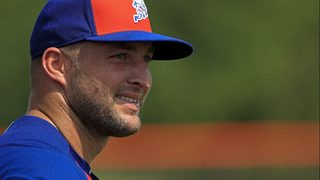 Tim Tebow promoted by Mets