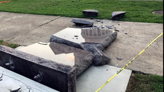 Ten Commandments monument destroyed in less than 24 hours after installation