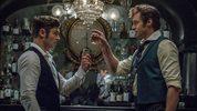Hugh Jackman (P.T. Barnum) and Zac Efron (Philip Carlisle) star in Twentieth Century Fox's THE GREATEST SHOWMAN.