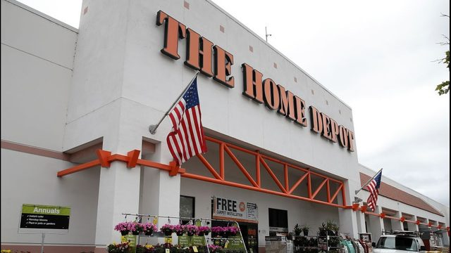 The Front Of A Home Depot Justin Sullivan Getty Images