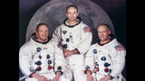Apollo 11 crew -- Neil Armstrong, Edwin E. Aldrin Jr. (Buzz Aldrin) and Michael Collins.
