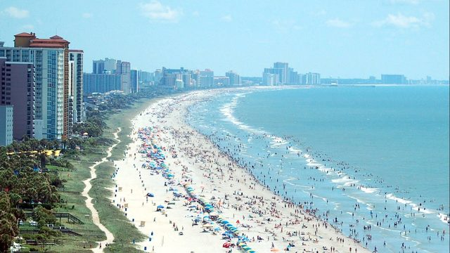 Myrtle Beach South Carolina Is A Por Vacation Destination But The Family Of North Woman Claims Grandmother Contracted Flesh Eating