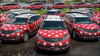 Minnie Vans start zooming guests around Walt Disney World