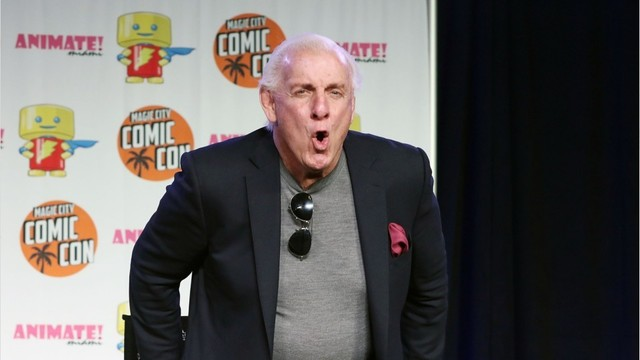 Ric Flair says 'it's a miracle' he's alive after health scare