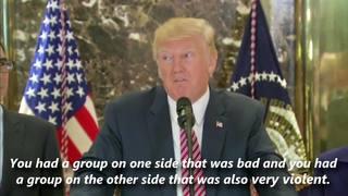 Trump slams Lindsey Graham, media over Charlottesville backlash