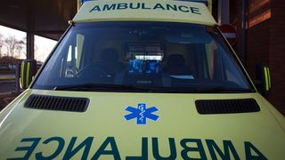 Patient dies after ambulance crashes