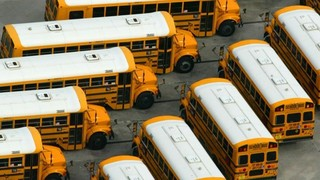 Upset father says his son was left on school bus for hours