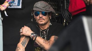 Johnny Depp surprises patients at British Columbia Children