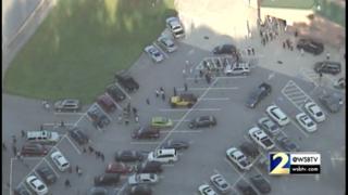 Teacher shoots self at Georgia high school, police say