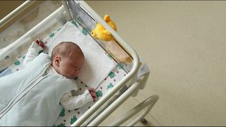 Big brother, 10, helps to deliver newborn baby brother at home
