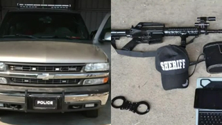 Man Facing Charges For Making Truck Look Like Police Vehicle