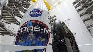 Atlas V rocket carrying NASA communications satellite launches
