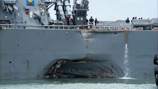 Navy plans operation pause, calls for review of collisions in the Pacific