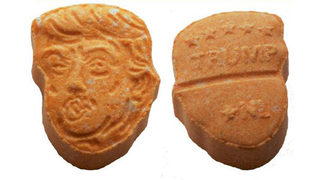 Ecstasy pills shaped to look like Donald Trump seized by German police