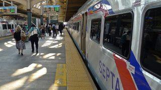 At least 33 hurt in train crash near Philadelphia
