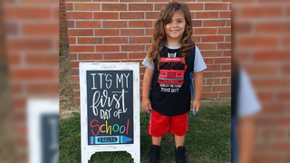 Mother says 4-year-old son could not attend school because of long hair