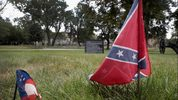 Confederate flags. Scott Olson/Getty Images