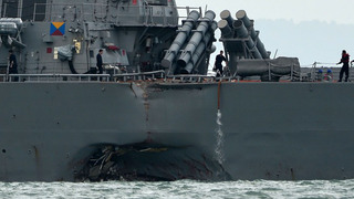 Former U.S. Navy officers face negligent homicide charges in collisions