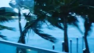 VIDEO: Hurricane Irma Draws Closer to Florida