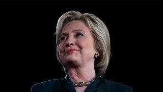 Hillary Clinton unhurt in Jersey City parking garage crash