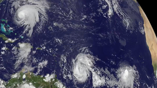 VIDEO: Hurricanes Jose and Maria From Space