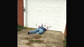 'This is Halloween decoration, not dead body,