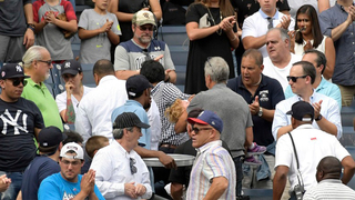 Toddler struck in the face with 105 mph foul ball at Yankee Stadium