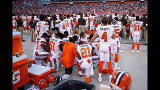 Photos: NFL takes a stand on football Sunday