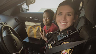 A Deputy Brings Boy To School While Mom Gets Needed Medical Care