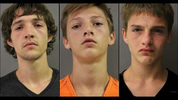 Pictured, left to right, are brothers Sean, Tyee and Kyle Garrison, of White Settlement, Texas, who are each charged with capital murder in the Sept. 18, 2017, shooting death of 18-year-old Xavier Olesko of Fort Worth.