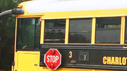 A school bus was struck with a bullet Thursday.