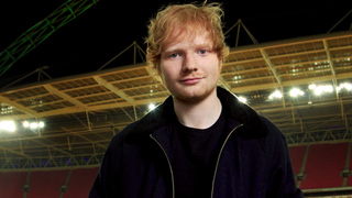 Ed Sheeran hit by car while riding bike, breaks arm
