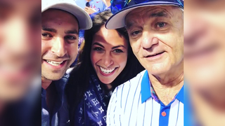Bill Murray helps couple make big announcement