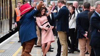 WATCH: Kate Middleton dances with Paddington Bear despite battling…