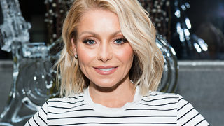 Kelly Ripa gets into the Halloween spirit by dusting off a past costume