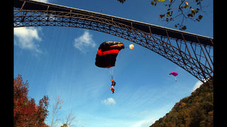 New River Gorge Bridge in West Virginia marks 40th year
