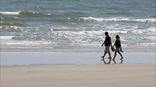 Body of child found on Texas beach