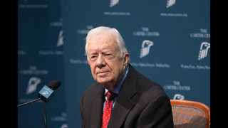 Jimmy Carter says he