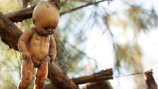 Halloween display of nude, disfigured hanging dolls 'disgusting,