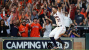 The Houston Astros reached the World Series for the first time since 2005 by winning Saturday night.