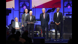 5 former presidents appear at hurricane relief concert