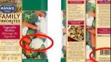 Mann Packing recalled various vegetable products over Listeria concerns.