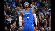 Carmelo Anthony and the Oklahoma City Thunder lost in Minneapolis, then had a bumpy landing in Chicago