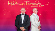 In this handout photo provided by Madame Tussauds Orlando, rapper Pitbull attends the unveiling of his wax likeness at Madame Tussauds May 29, 2015 in Orlando, Florida.
